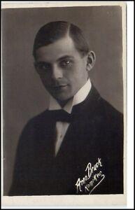 altee-Postkarte-Portraet-AK-um-1930-ARNO-BRUCK-Deutscher-Komiker-Schauspieler