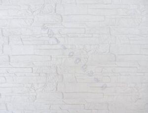 Rivestimento muretto pietra bianco per muro interno esterno in gres porcellanato ebay - Rivestimento per esterno in pietra ...