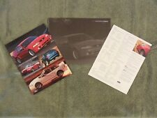 NOS from Dealer Stock-2000 Ford Mustang Cobra SVT Brochure with R + 2 Tech Cards
