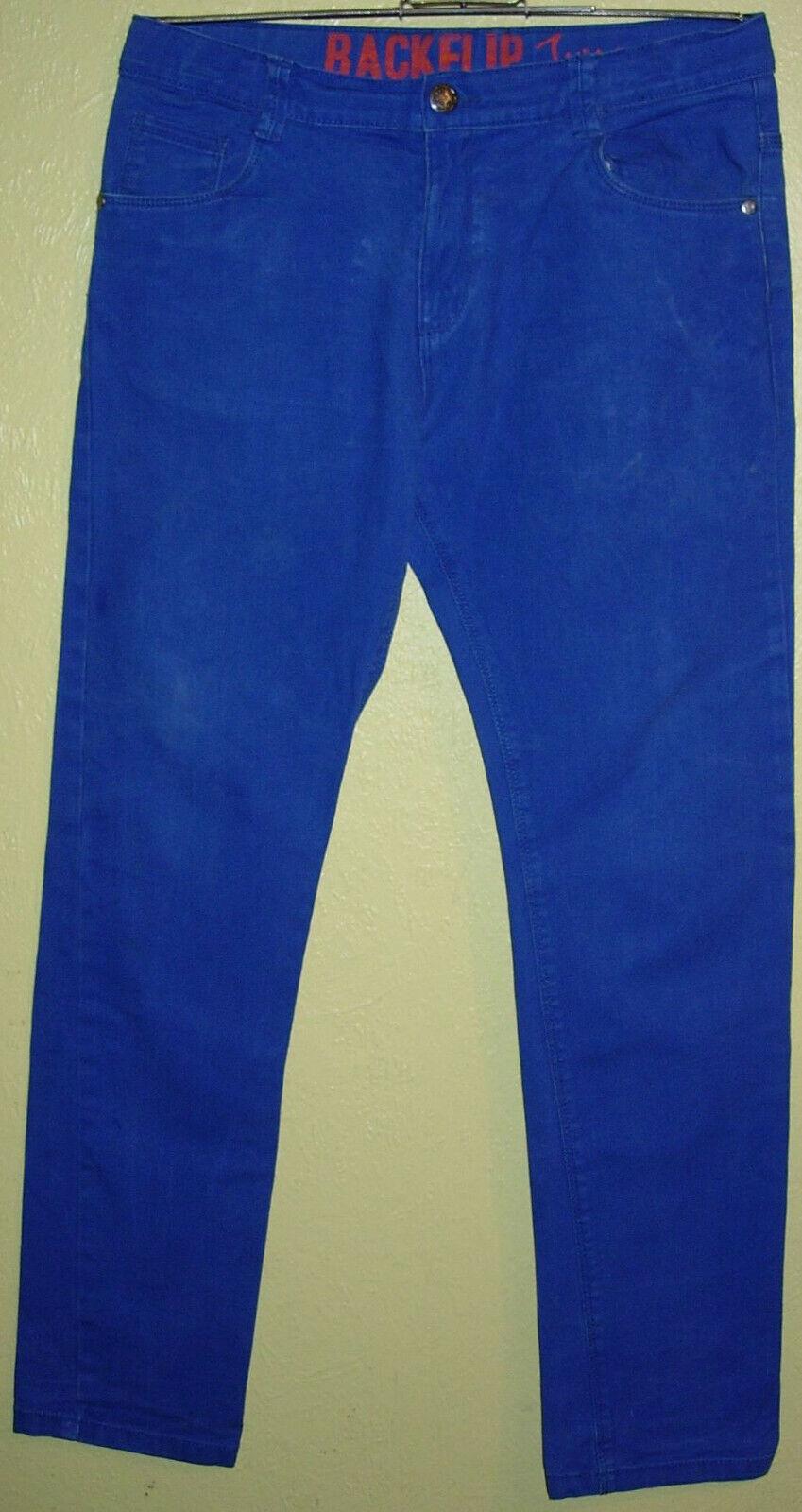 00 ) Nekische Mittelblaue Kinder Stretch Jeans Gr. 164 Der Firma Backflip JUMP