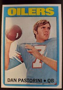 1972 Topps Dan Pastorini Rookie Card #156 Vgc