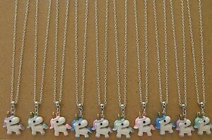 WHOLESALE JEWELLERY 10 TEDDY BEAR NECKLACES,GIFTS PARTY BAGS,JOB LOT,RETAIL