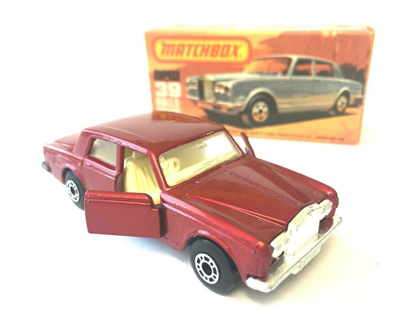 Matchbox 75 Superfast New 39 Rolls Royce Vintage in original Box