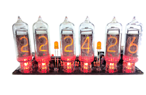 Details about Nixie Clock IN-14 Kit (no tubes) Arduino Open Source
