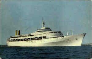 Schiffe-Echtfoto-AK-Schiffsfoto-1960-Schiff-Personenschiff-Dampfer-S-S-CANBERRA