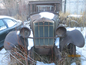1929 DURANT FOR SALE FOR PARTS