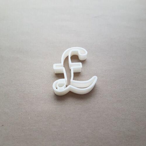 Pfund Britisches Währung Symbol Form Keksausstecher Teig Plätzchen Fondant