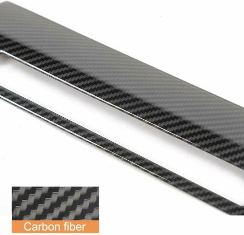 Emergency Llight Switch Trim Decorative Panel for F150 2015-2019 Carbon Fiber