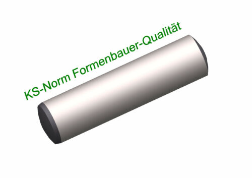 DIN 6325 broches cylindriques m6 Ø 14 L = 40 à 120 ISO 8734 Moulage