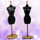 1X BARBIE DOLL DISPLAY GOWN DRESS FORM CLOTHES MANNEQUIN MODEL STAND RACK HOLDER