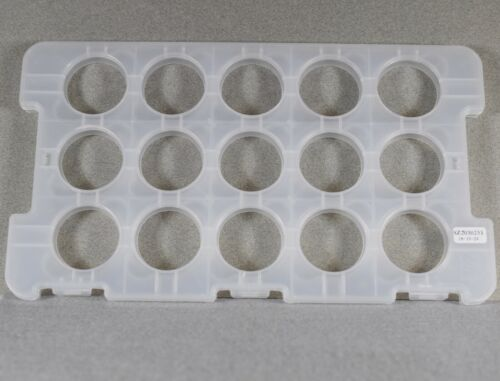 15 Coin Tray Plastic Storage case for Chinese Silver Panda ** NO COINS **--2614