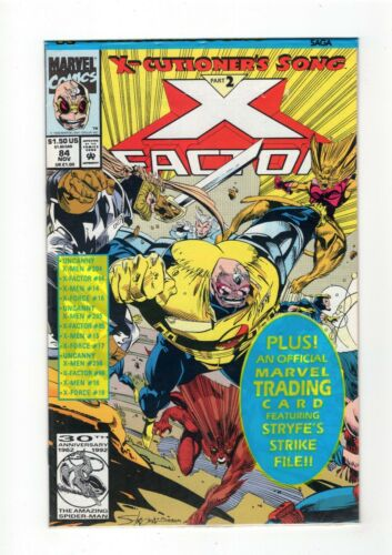 COMPLETE YOUR RUN Details about  /X-FACTOR Vol 1 1986 Pick an Issue