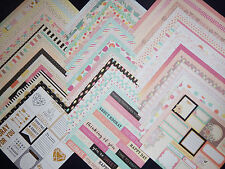 12x12 Scrapbook Paper Happy Day Birthday Party Celebration 60 lot Recollections