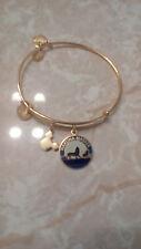 Alex & Ani Disney Lion King Hakuna Matata Gold Charm Bangle Bracelet