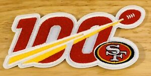 2019-100th-ANNIVERSARY-100-SEASONS-SAN-FRANCISCO-49ers-NFL-PATCH-3-5-034-IRON-ON