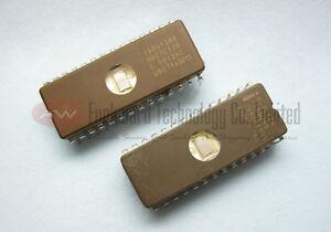 4x Vintage New Old Stock SEEQ 27128-30 UV EPROM 27C128 128Kb 16Kx8 Ceramic 300ns