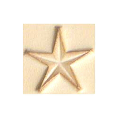 Craftool Large Star Stamp 678500 by Tandy Leather