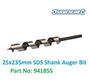 Silverline 941855 SDS Plus Auger Bit 25 x 235 mm