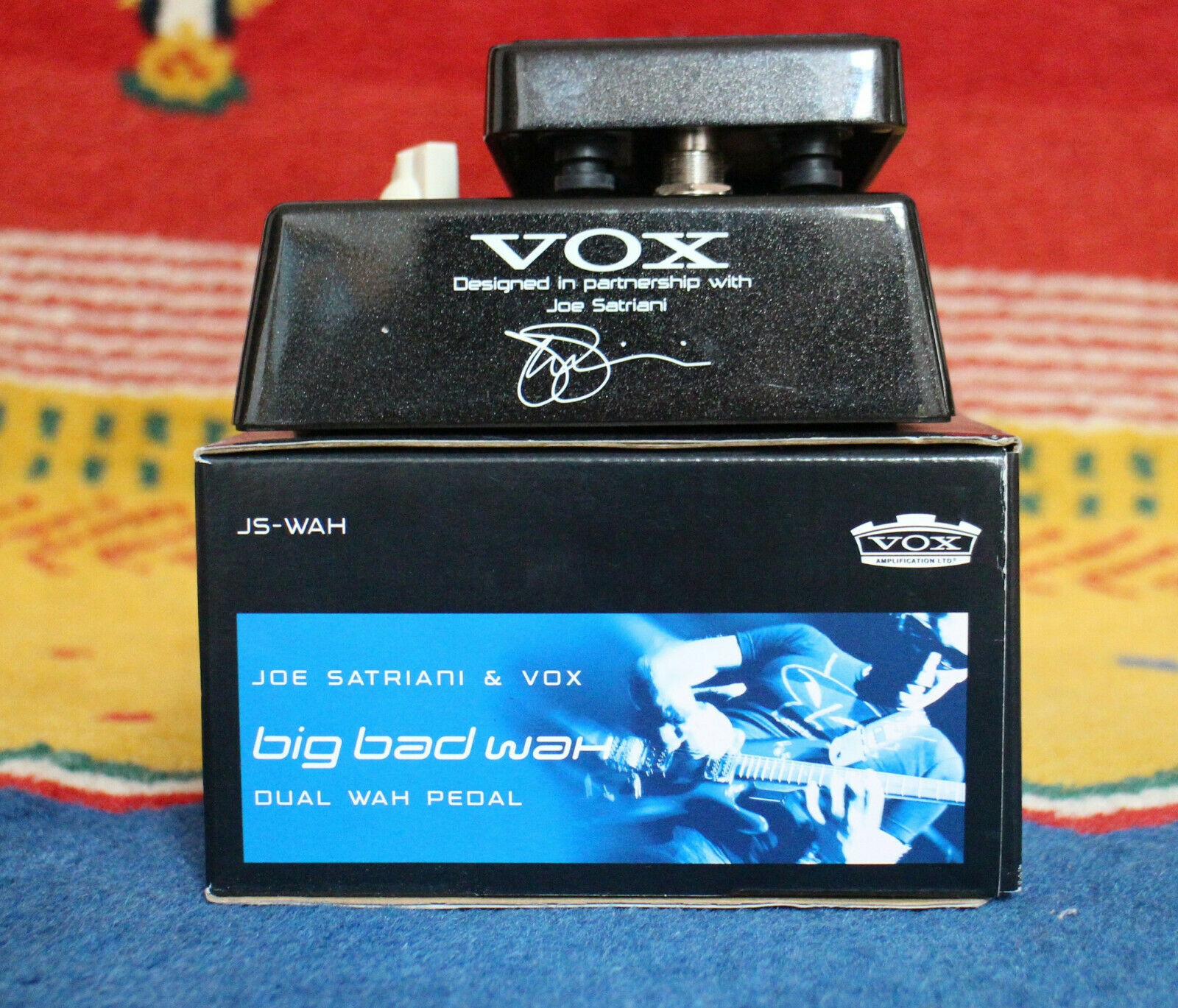 Vox Satriani Big Bad Wah