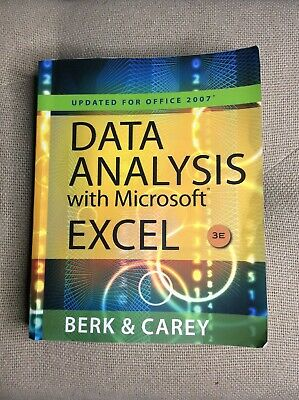 Data Analysis with Microsoft Excel Office 2007 Paperback ...