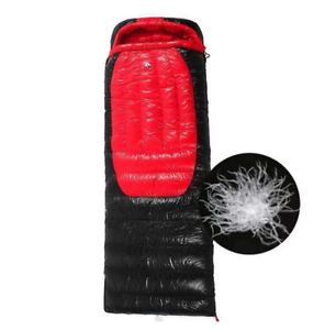 Shiny Gloss silky wet-look nylon rectangle down sleeping bag  1-3kg filling new  save up to 70%