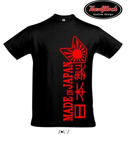 T-shirt Made Japon Wakaba Bomb bordeI Tuning Styling JDM Heck tire
