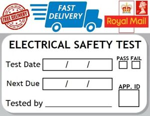 48 x Electrical Safety Test Record Labels Pass Fail PAT Stickers PAT Labels - Poulton-le-Fylde, United Kingdom - 48 x Electrical Safety Test Record Labels Pass Fail PAT Stickers PAT Labels - Poulton-le-Fylde, United Kingdom