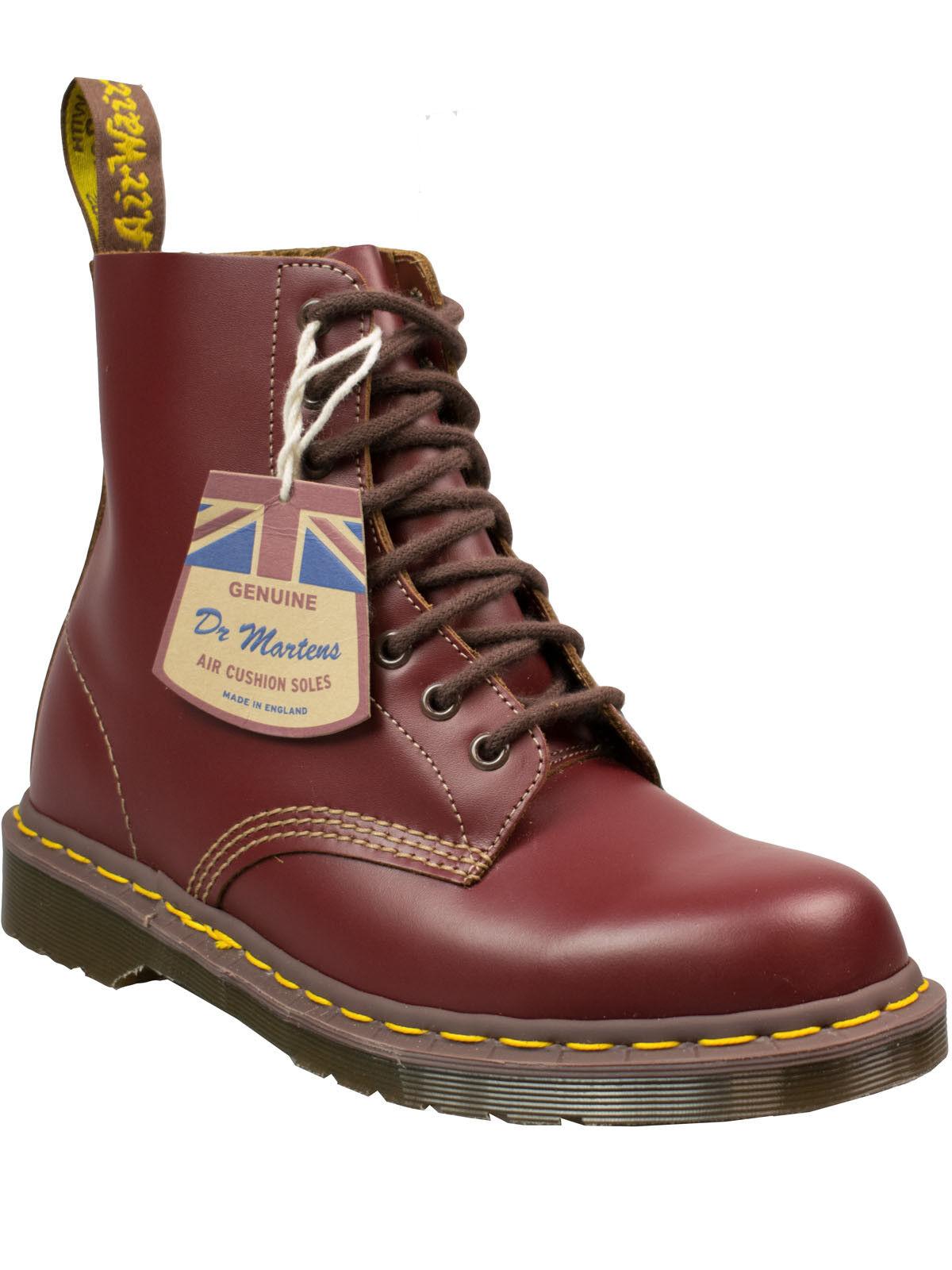 Dr. Martens Docs Stiefel 8-loch 1460 Vintage Made in England Oxblood Vintage 1460 #5056 8fc35f
