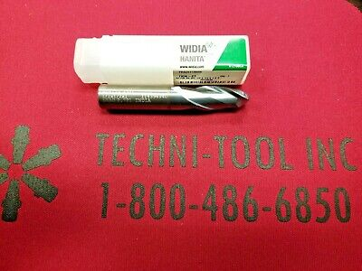 "carbide 1//2"" Ball end mill Widia Uncoated 1//2 X 1//2 X 1 X 3 2FL"