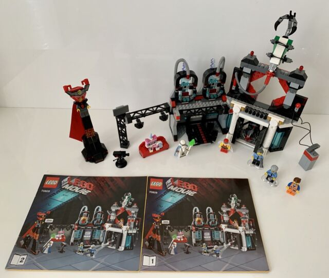 Le film Lego Set 70809 Lord Business 'Evil Lair Instructions Complètes sans boîte