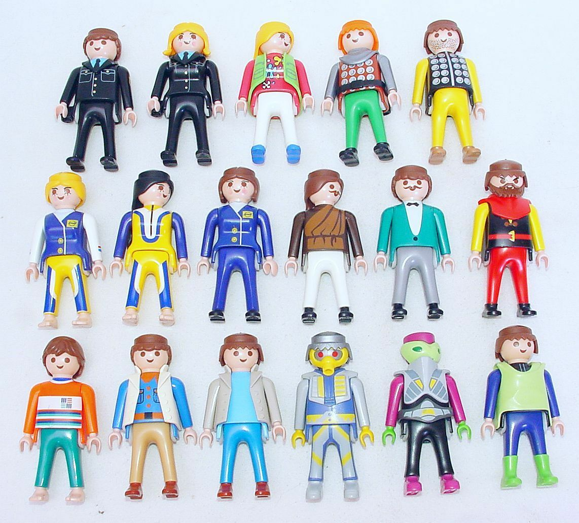 17x Playmobil Special Modern Klicky Figure Set Mint Condition Large LOT NEW