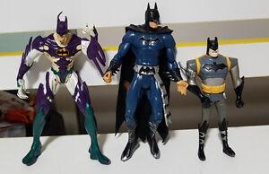 DC-COMICS-BATMAN-FIGURINE-LOT-PLASTIC-TOY-FIGURINE
