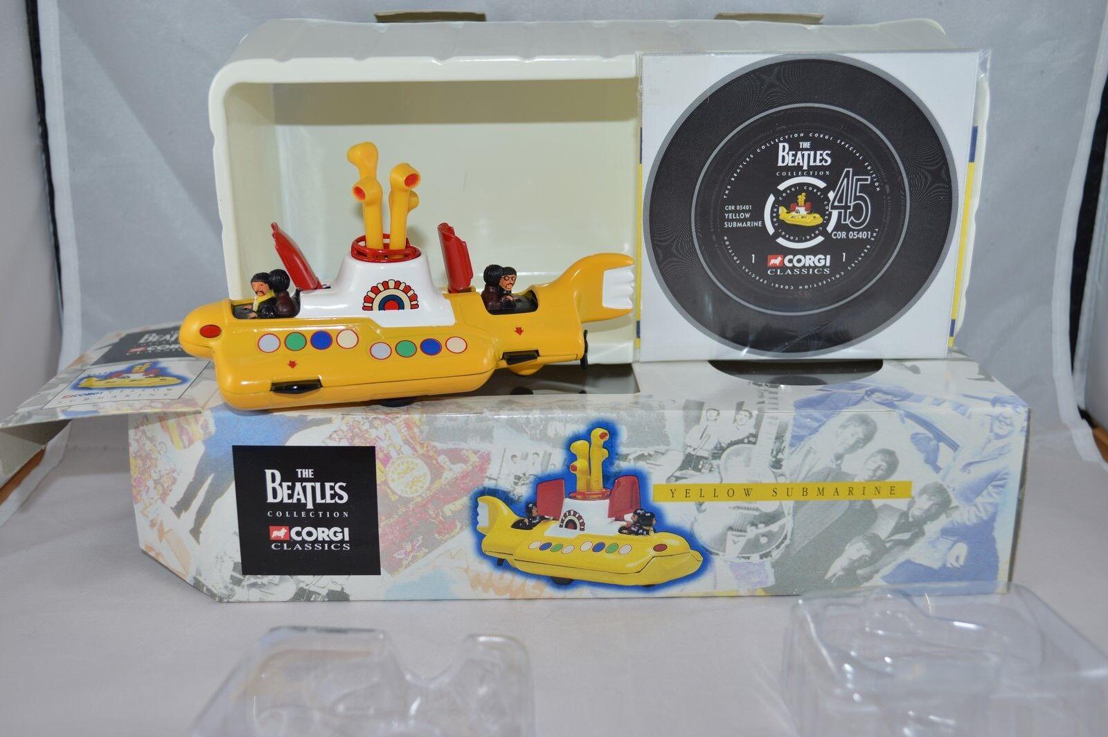 Corgi Toys 05401 Yellow Submarine  perfect Mint in box brand new