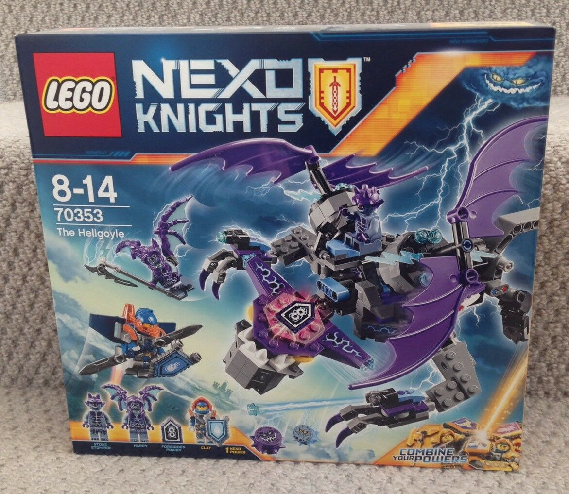 NEW LEGO NEXO KNIGHTS THE HELIGOYLE 70353.