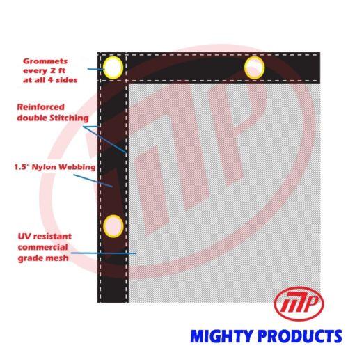 Debris Safety  Mesh 10/' x 28/' MN-DN-1028 Safety Net Safety Tarp