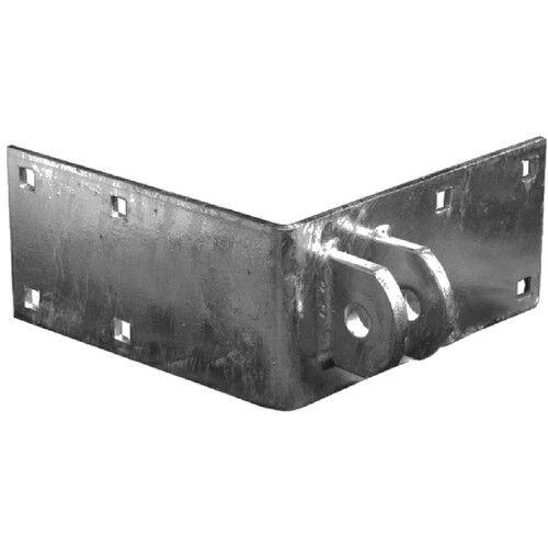 Tiedown 26400 Dock Hardware Outside Female Corner L Bracket w// Mounting Tabs