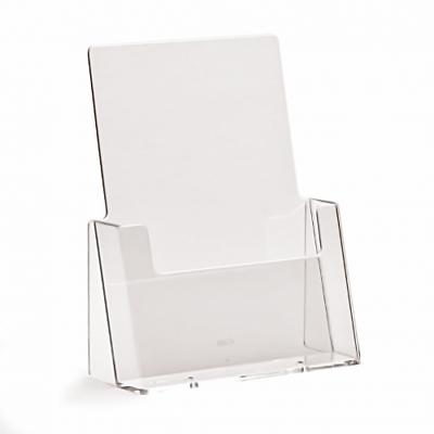 Forte A5 Menu Opuscolo & Supporti Per Volantini Contatore & Supporto A Parete Dispenser Viene Visualizzato-