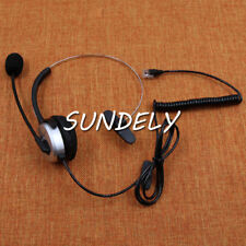 Silver T400 Headset fr Nortel M7310 T7208 T7208 T7316 T7316E phone telephone