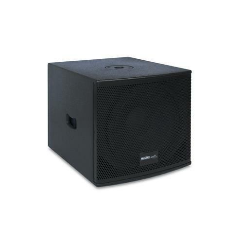 Subwoofer amplificato 12  (300mm) (300mm) (300mm) 8 ohm 300W RMS Master Audio MAT12SUB 641893