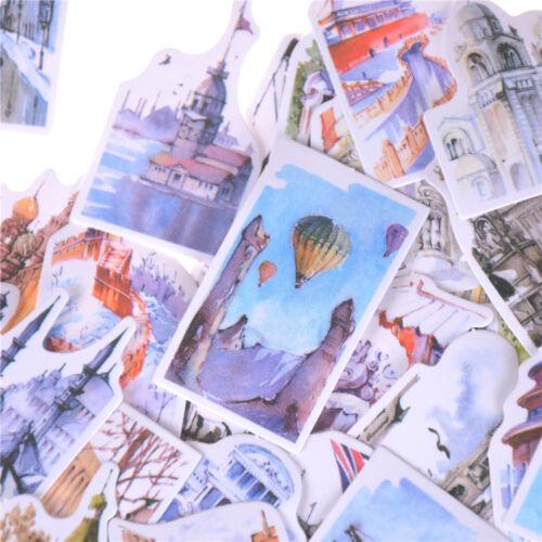1Pack Aufkleber Blume Essen Album Scrapbooks Tagebuch Foto Brief Aufkleber DeDDE