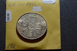 Great-Britain-1912-2-Shillings-GR0099-combine-shipping
