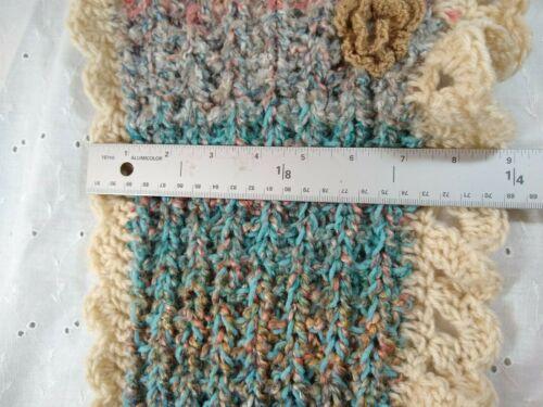 CHOOSE Hand Knit Crochet Neck Warm HAT Victorian Bohem cowl scarf headbnd OOAK 4