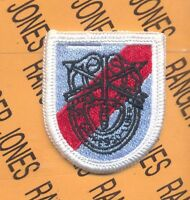 20th Special Forces Group Airborne Beret Flash Dui Patch C