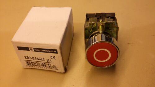 contact  NF Bouton poussoir Telemecanique couleur rouge rond XB2 BA4325 neuf