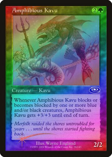 Amphibious Kavu FOIL Planeshift NM Green Common MAGIC GATHERING CARD ABUGames