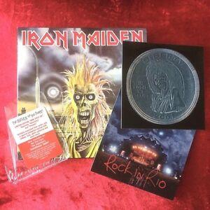 IRON-MAIDEN-same-Iron-Maiden-RARE-US-cd-mini-replica-LP-CK-86051-complete