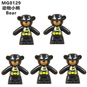 MG0129 Compatible Kids Toy Educational Animals 5pcs #0129 Movie Gift #JLB