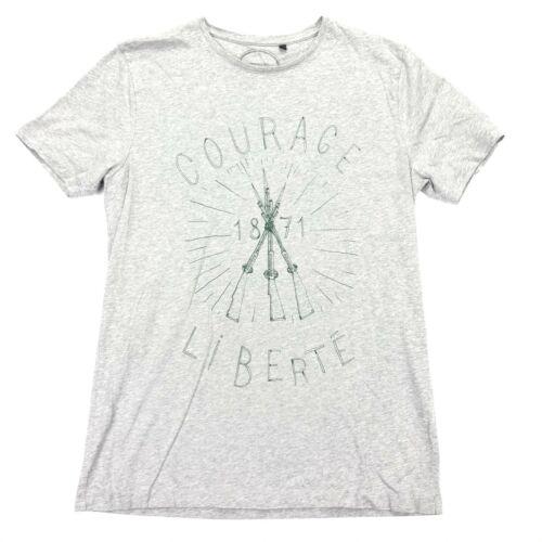 COMMUNE DE PARIS Men's Courage/Liberte S/S T-Shirt