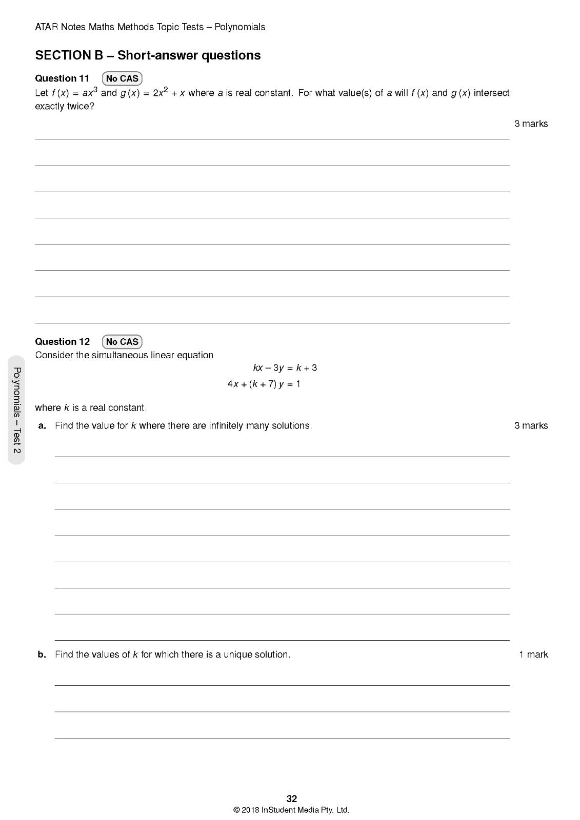 Atar Notes Year 12