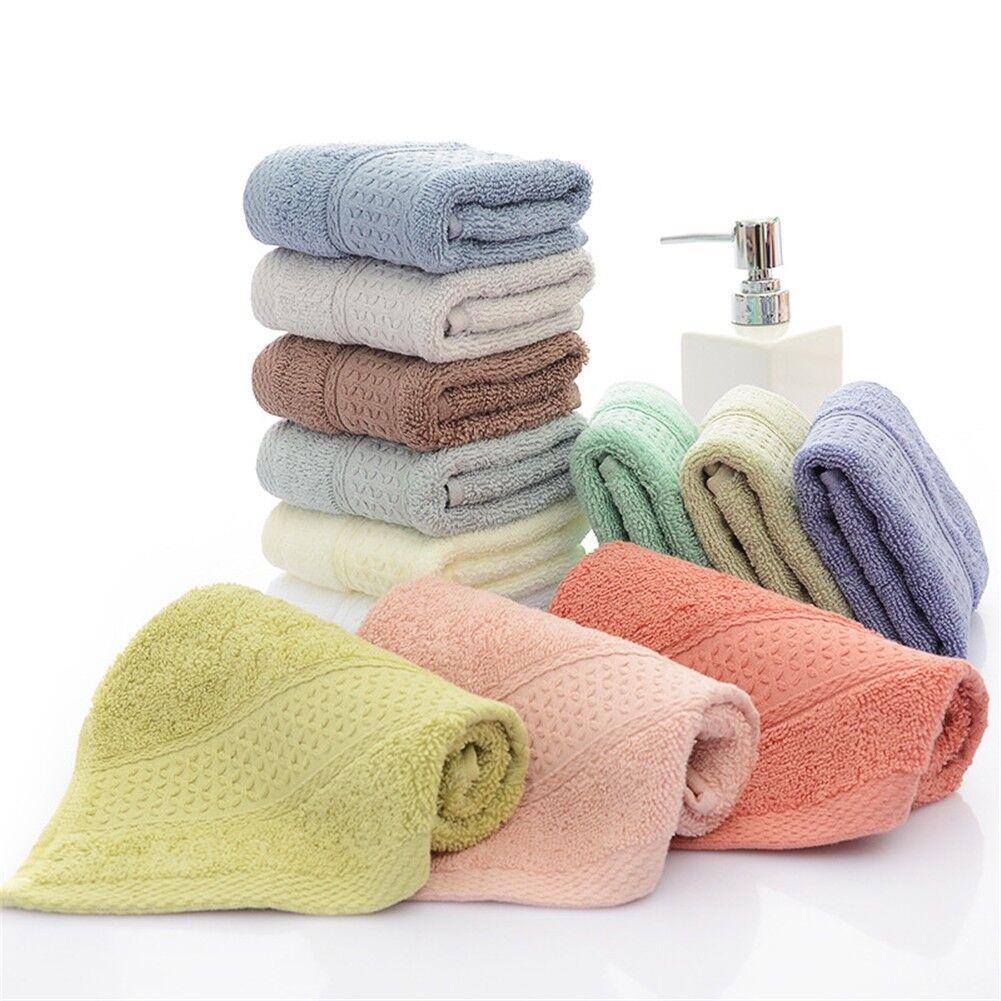 1 Dozen NEW Face Wash Cloth 12 x12 100/% Cotton Blend Soft White Hotel Spa Facial